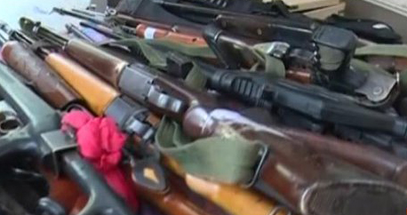 Huge-cache-of-modern-weapons-recovered-from-Dera-premises-in-Sirsa
