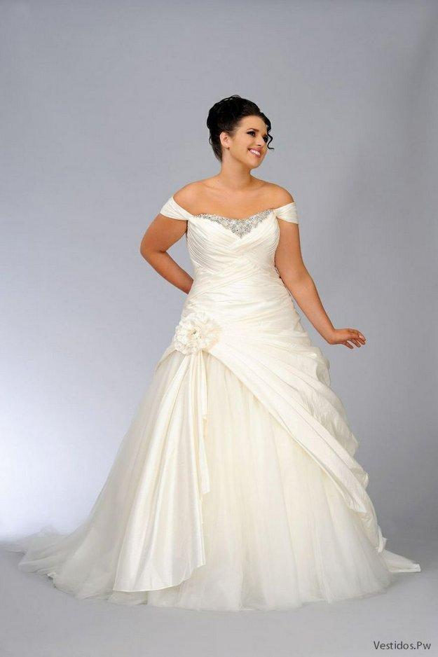 Vestidos de novia para mujeres chaparritas y gorditas