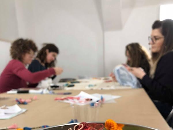 Ricama Con Noi: il workshop di ricamo a Perugia