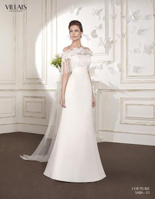 modelos de Vestidos de Novia Sencillos y Elegantes