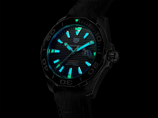 TAG Heuer Aquaracer 43 mm Tortoise Shell Effect Calibre 5 WAY201P.FT6177