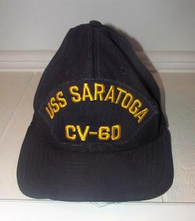 USS Saratoga ball cap