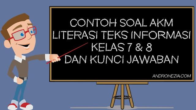 Contoh Soal AKM Literasi Teks Informasi Kelas 7 & 8 dan Kunci Jawaban