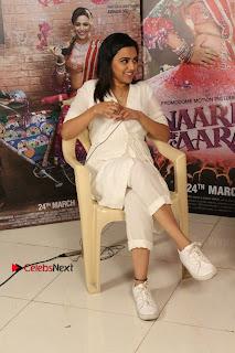 Swara Bhashkar with Avinash Das and Sandip Kapoor For interview for movie Anaarkali Of Aarah   15 March 2017