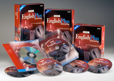 Curso de Inglês BBC English Plus Interactive PT-BR Completo Box Capa