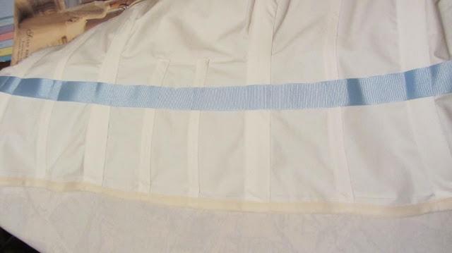 handmade wedding dress bodice and waist stay