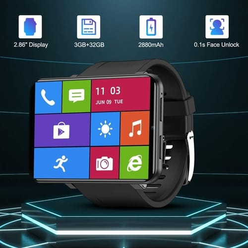 Review TICWRIS 4G LTE GPS Android Smartwatch