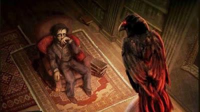 Resultado de imagen para el cuervo edgar allan poe