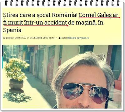 cornel galos a decedat in spania murind in urma unui accident de masina