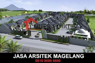 Desain Arsitek Modern Magelang