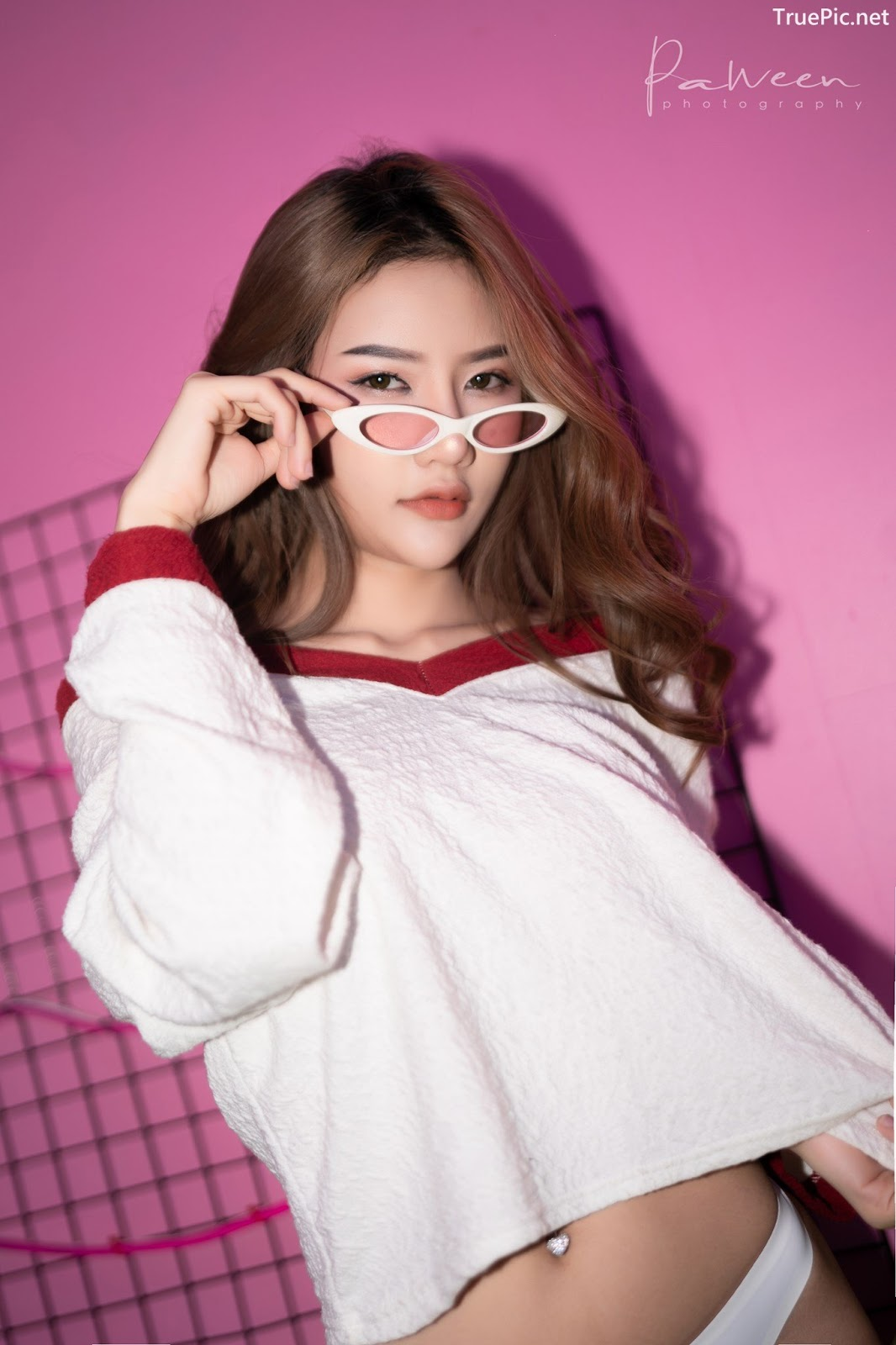 Image Thailand Model - Atittaya Chaiyasing - White Lace Lingerie - TruePic.net - Picture-28