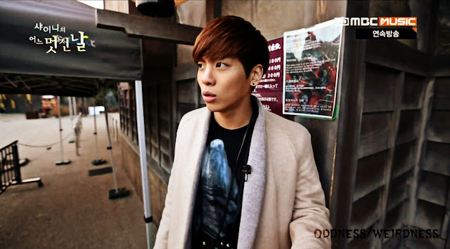 Shinee's Wonderful Day episode 7 Jonghyun at haunted house