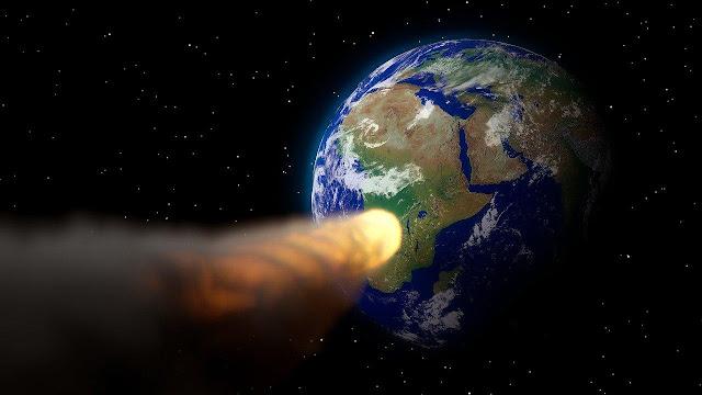 impacto de cometa com a terra causou extinção dos dinossauros