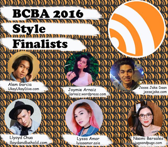BCBA2016 Finalists of Style Niche