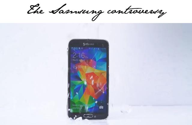 Samsung ice bucket challenge