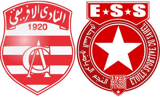 بث مباشر مباراة النجم الساحلي والافريقي التونسي