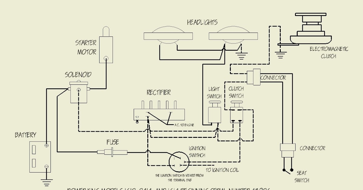 power king tractor wiring diagram
