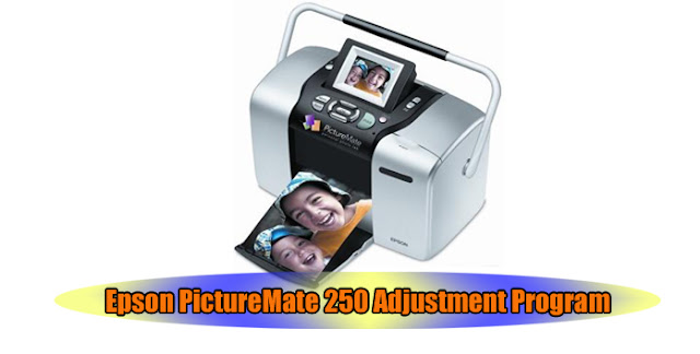 Epson PictureMate 250 Printer Adjustment Program