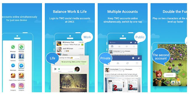 تنزيل تطبيق ناسخ التطبيقات لفتح اكثر من حساب واتس اب بطريقة شرعية