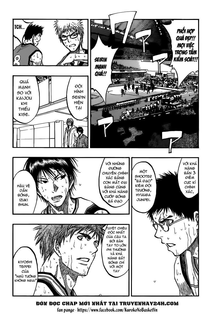 Kuroko No Basket chap 193 trang 8