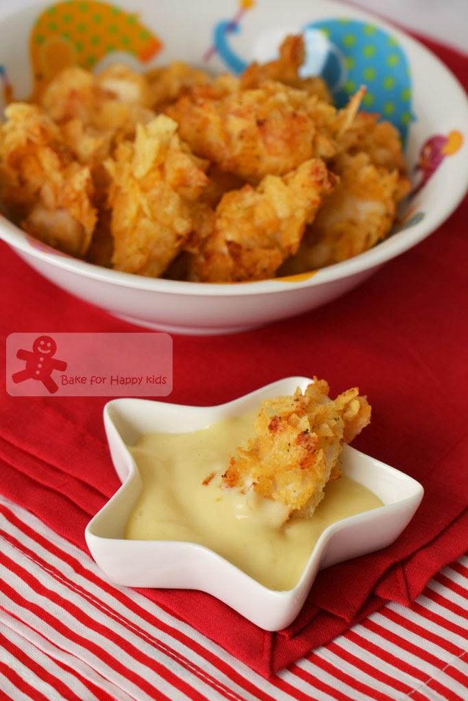 chicken nuggets honey mustard dip Paula Deen