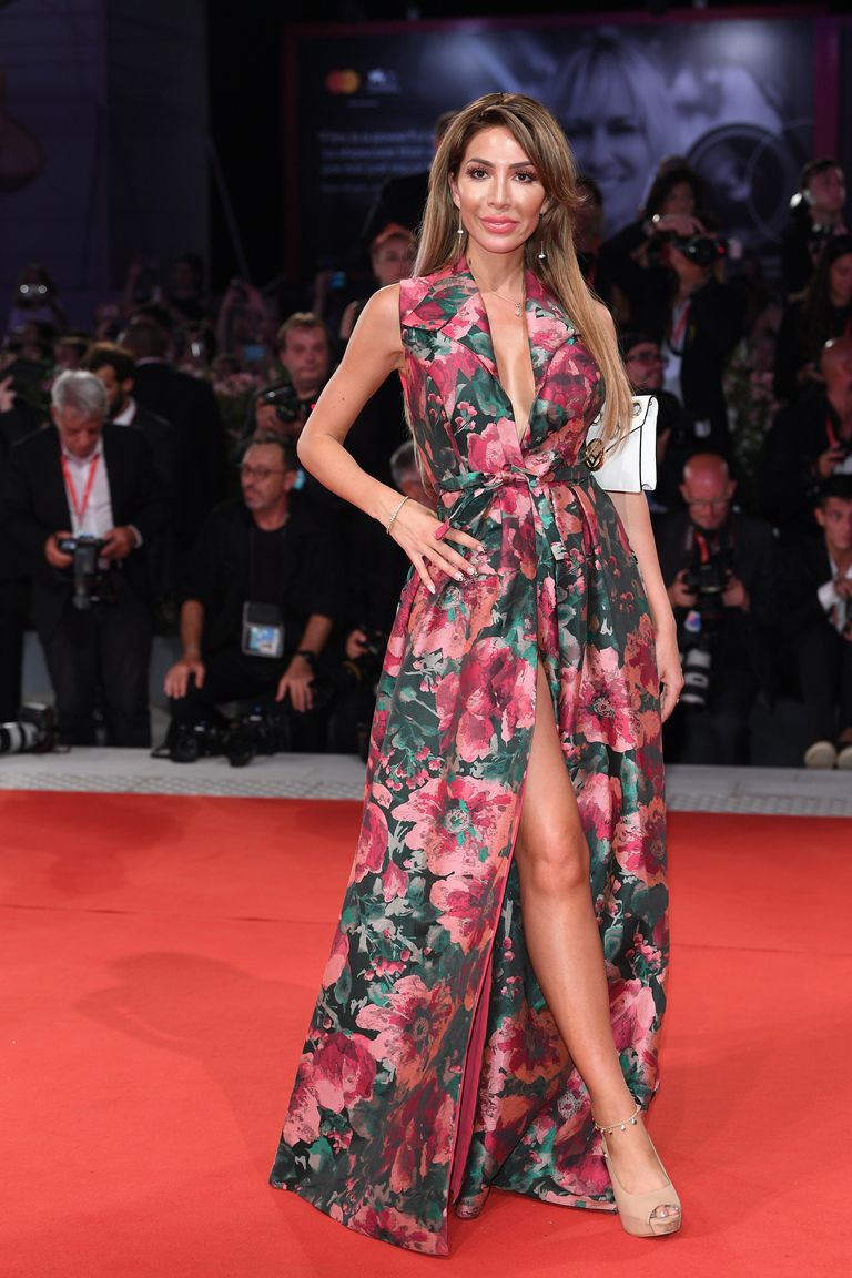 Farrah Abraham (and Her Wardrobe Malfunction) Attends Venice Film Fest