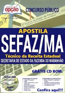 Apostila SEFAZ do Maranhão Técnico da Receita Estadual - SEFAZ MA