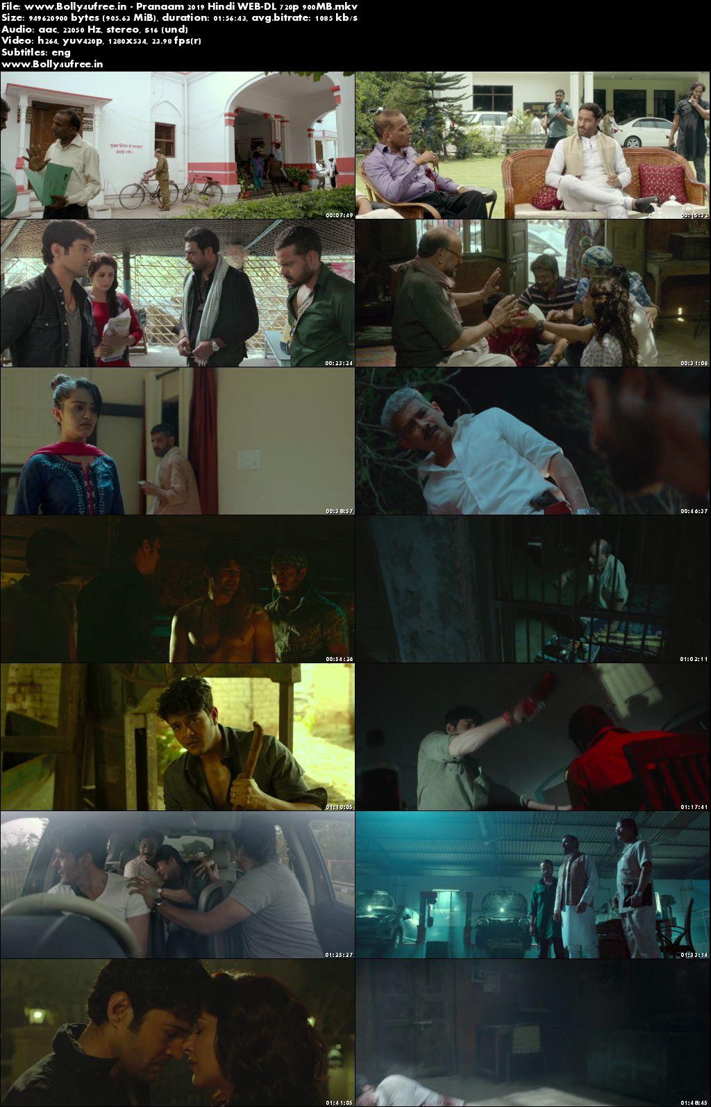 Pranaam 2019 Hindi Movie Download WEB-DL 720p 900MB