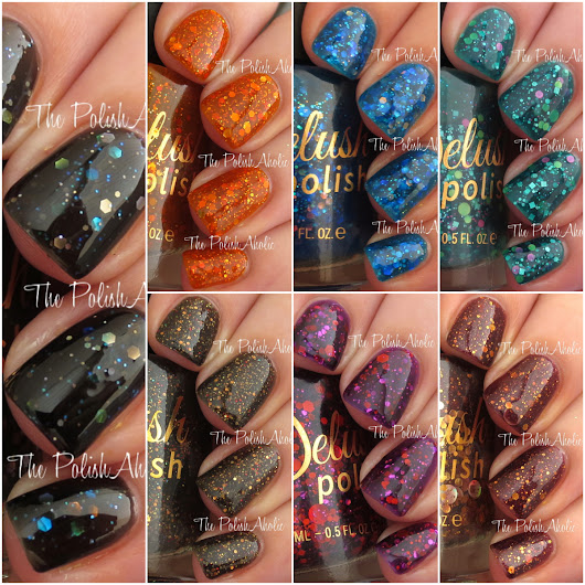 Delush Polish Dames of Thrones Collection Swatches & Review