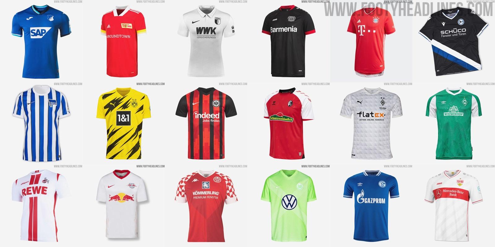 Bundesliga Trikots 2021/19