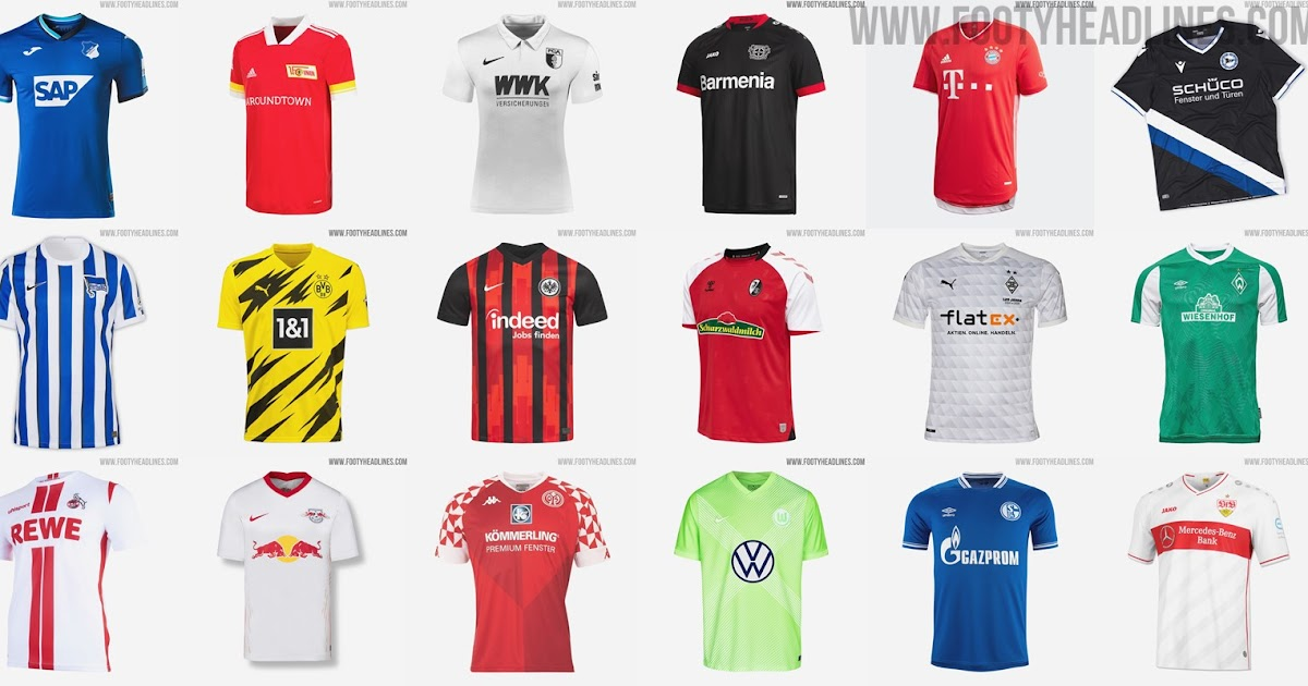 Neue Trikots Bundesliga