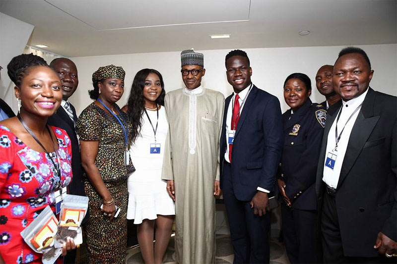 How we got into recession: Buhari blames GEJ in New York speech