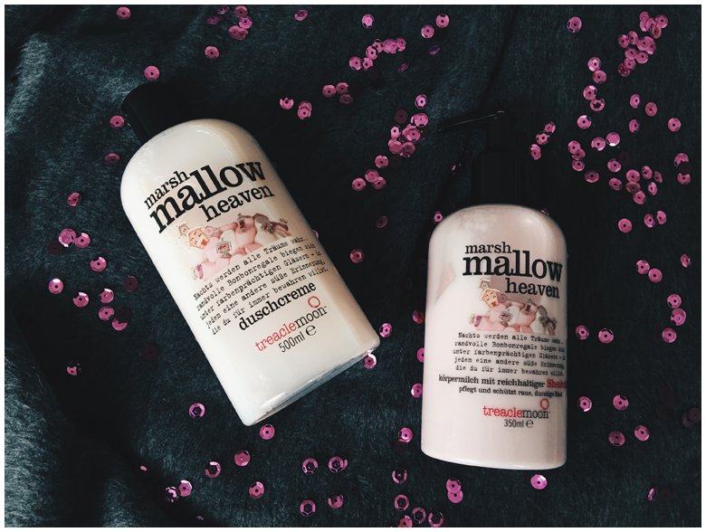 treaclemoon marshmallow heaven duschcreme und körpermilch, review