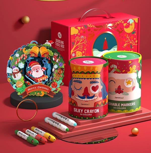 Christmas doodling tool box
