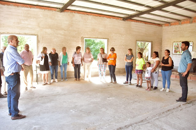 Importante aporte para la construcción del templo de la Iglesia Evangélica Pentecostal y Misionera