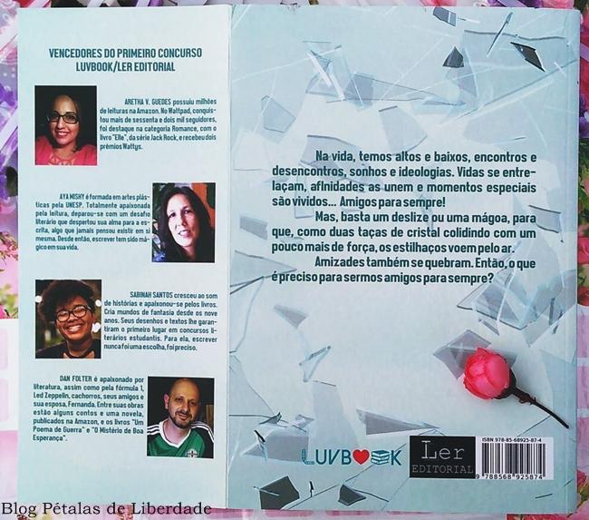 Sinopse, livro, Amigos-para-sempre, Ler-Editorial, LuvBook