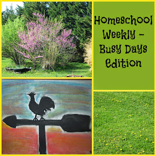 Homeschool Weekly - Busy Days Edition on Homeschool Coffee Break @ kympossibleblog.blogspot.com