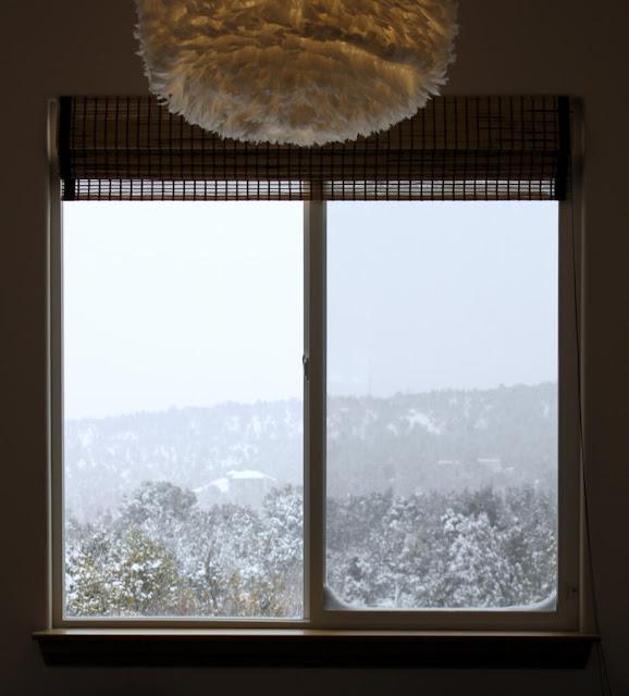 snow on Thanksgiving