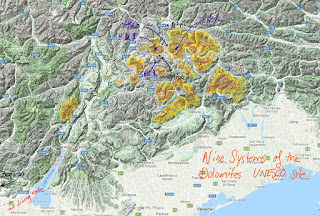 UNESCO Nine Systems of the Dolomites.