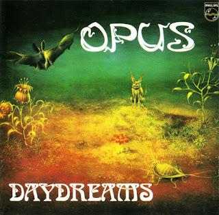 Portada del primer álbum de Opus: Daydreams (1980)
