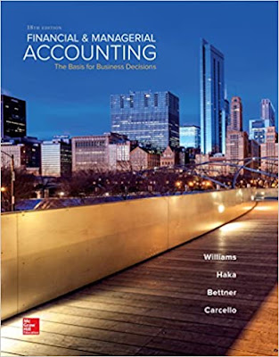 Financial & Managerial Accounting 18th Edition by Jan Williams