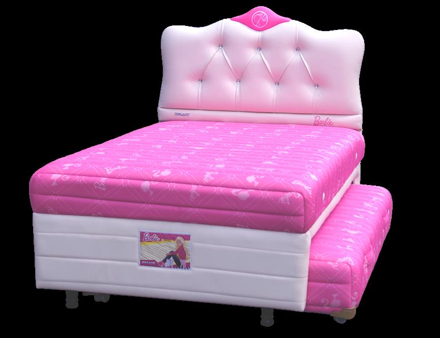 Harga Springbed Bigland 2in1 Twin Bed Barbie Luxe di Purwokerto