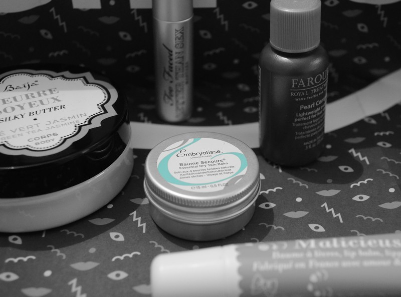 glossybox, , janvier, news year new smile
