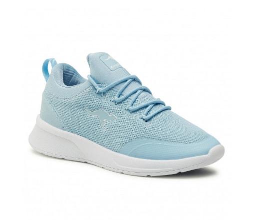 Sneakers KANGAROOS de dama albastri din panza