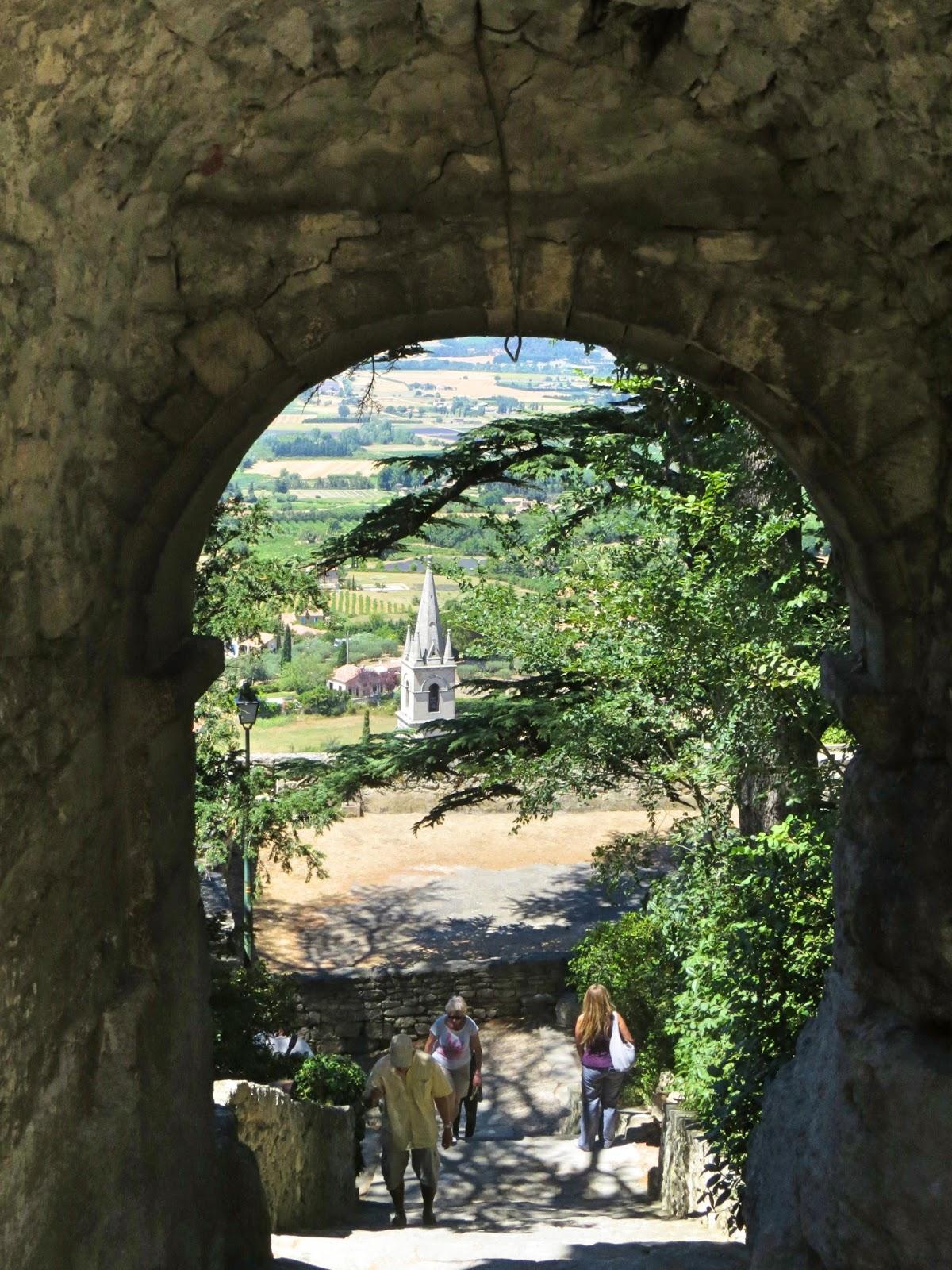 Luberon tourisme Châteaux de Provence Ocres Luberon