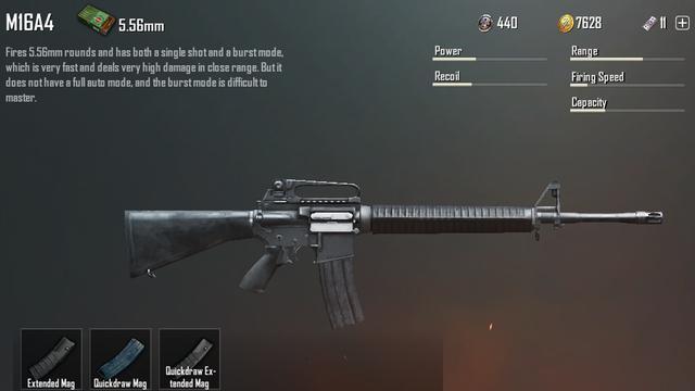 Cara Menggunakan Senjata M16A4 PUBG Mobile Beserta Equipment Terbaiknya