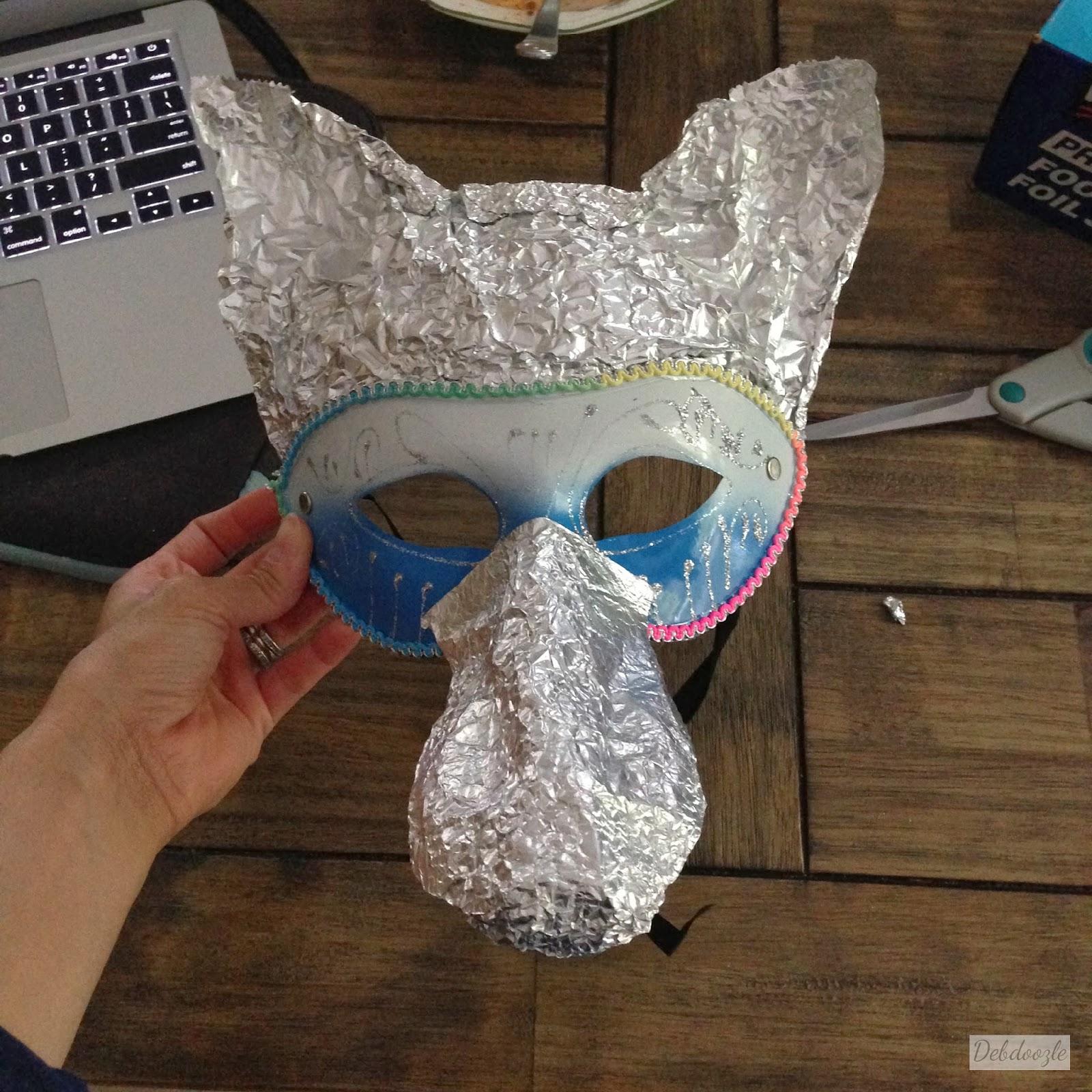 Diy Cardboard Masks: Debdoozle: DIY Papier-Mâché (Paper Mache) Anubis/Jackal Mask