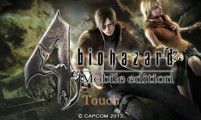 Resident Evil 4 Mobile Edition portada