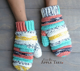My Latest Crochet Projects with pattern sources by Over The Apple Tree