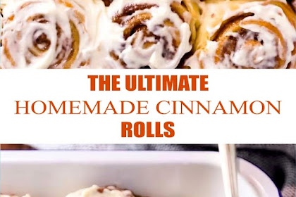 THE ULTIMATE HOMEMADE CINNAMON ROLLS